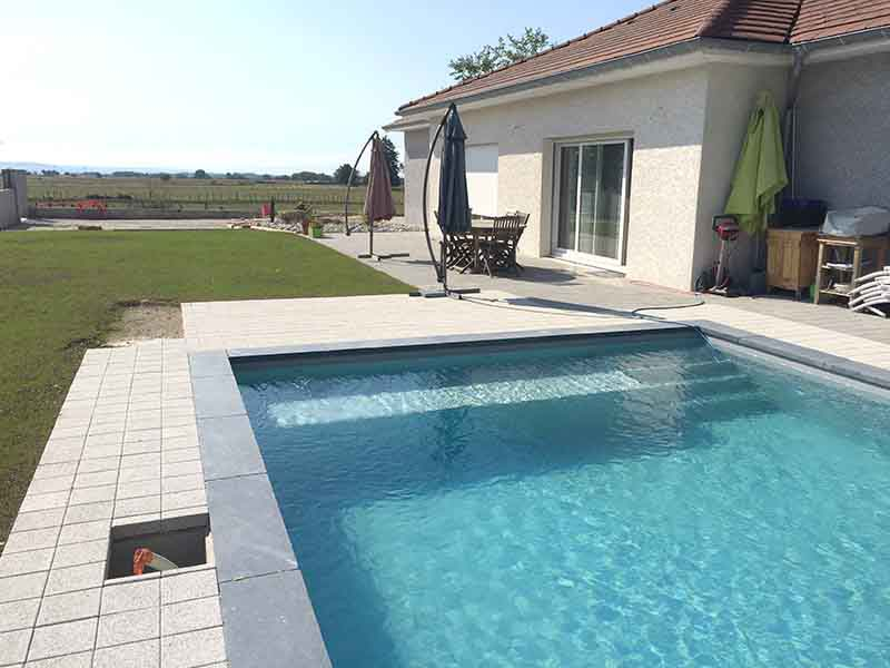 Piscine faux carré 5m x 6m